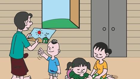 Как да накараме детето да споделя