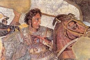 Александър Велики тръгва на първия си поход от Хераклия Синтика до Рупите
