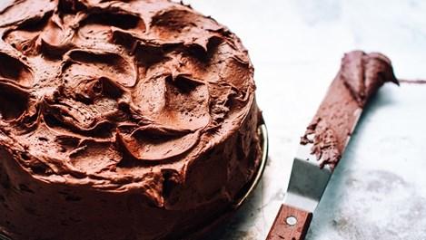 """Мокра"" шоколадова торта"
