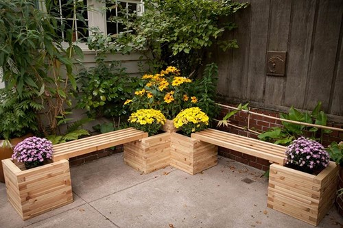 Малката градина - хармонична и гостоприемна