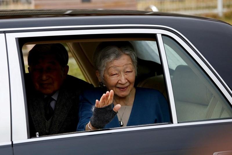 Бившата японска императрица Мичико СНИМКА: Ройтерс