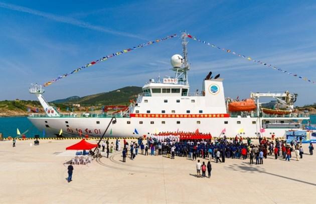 Китайски изследователски кораб се отправи на 10-та си арктическа експедиция