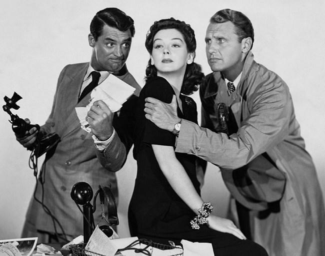 """кадър от филма """"Неговото петъчно момиче"""", снимка  Columbia Pictures"""