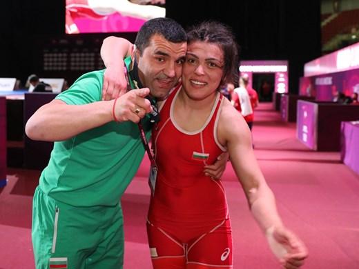 Мими Христова след като взе олимпийска квота в борбата: Това бе моят ден!