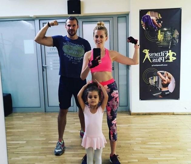 Ивайло Захариев спортува семейно