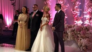 Снимки от сватбата на Гущеров и Светлана Василева