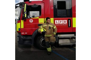 Николай - пожарникарят герой, който възхити принц Уилям