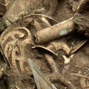 Археолозите извадиха ново бронзово дърво от руините Сансиндуей