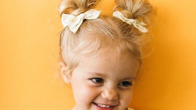 Оригинални прически за малки принцеси (Галерия)