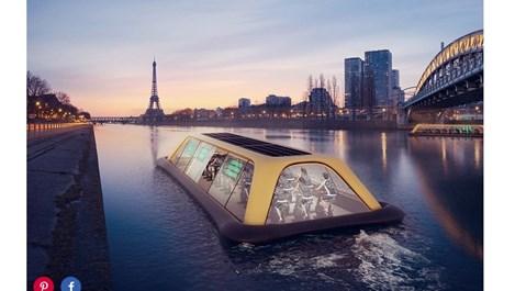 Плаващ фитнес ще вози парижани и техните гости