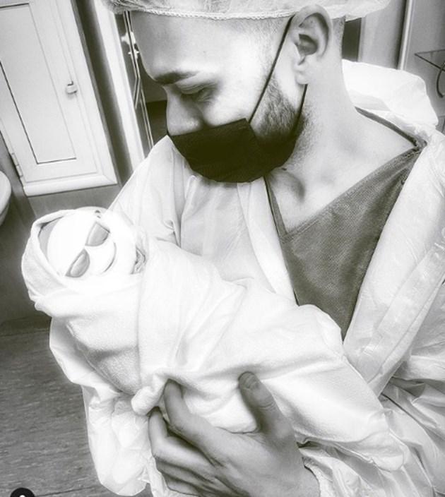 Криско стана татко за втори път