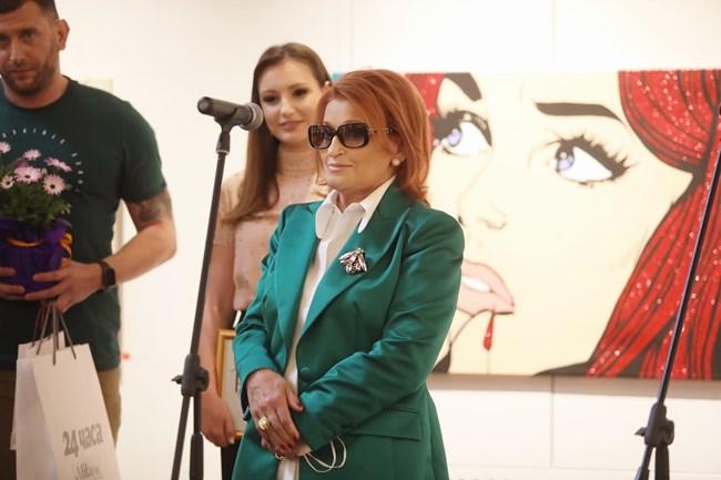 Елена Кумбиева се обърна към публиката с вълнуващи думи