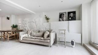 Малко жилище в бяло и с веранда (снимки)