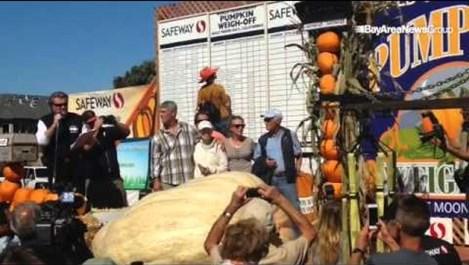 Тиква с тегло близо един тон спечели конкурс в Орегон (Видео)