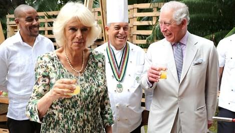 Принц Чарлз очарован от кубинската кухня