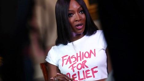 Наоми Кембъл беше обявена  за модна икона (Снимки)