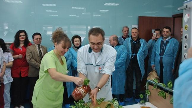 АГ-комплексът в Русе подготвя ин-витро от 2017 година