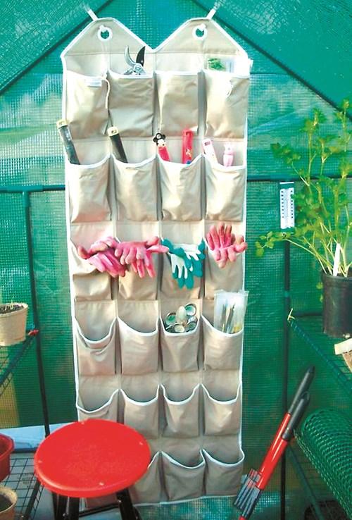Идеи за съхранение на градински инвентар