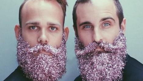 Бляскави бради като коледни елхи - хит за празниците