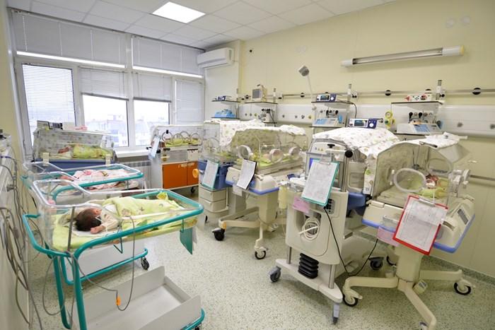 """Родените у нас бебета през 2019 г. са около 57 000, а до декември тази година около 49 000 - 50 000. СНИМКА: """"24 ЧАСА"""""""
