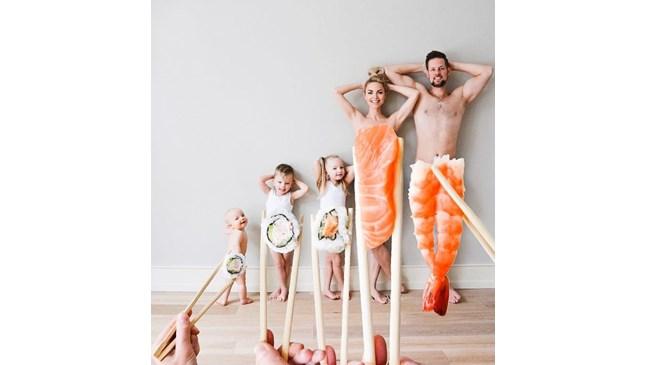 Креативните снимки на това семейство ще ви впечатлят