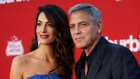 Амал и Джордж Клуни на вечеря с принц Чарлз