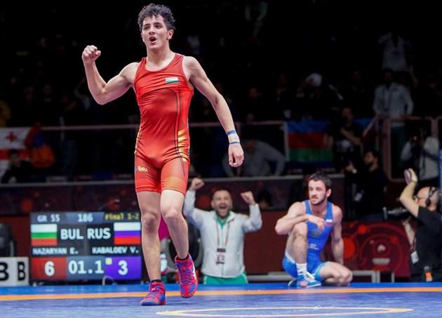 Световният първенец Иво Ангелов: Еди Назарян има шампионско сърце!