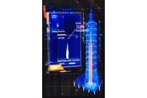 """Смарт системата на небостъргача """"101"""" в Тайпе събира и филтрира дъждовната вода и захранва с нея сервизните помещения"""
