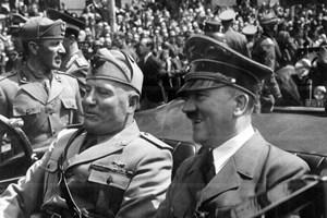 Хитлер и Мусулини