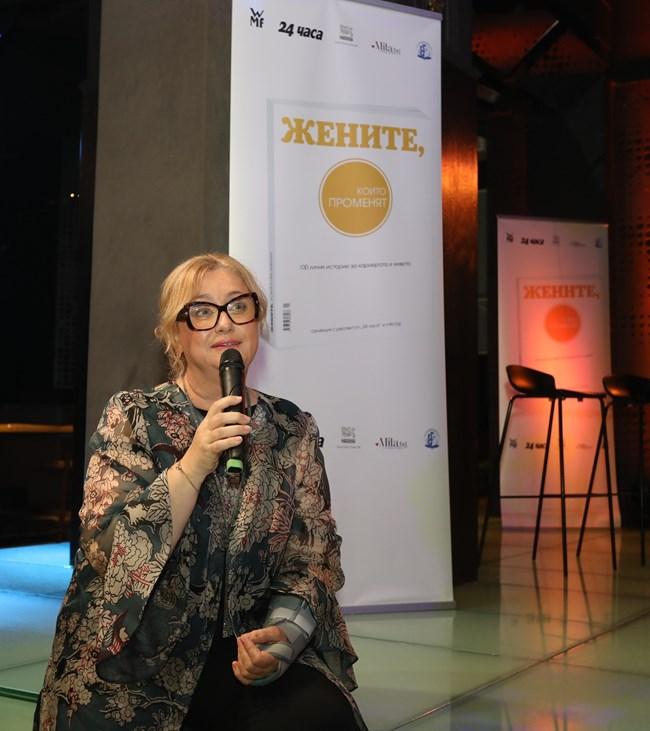 """Венелина Гочева, издател и управител на """"Медийна група България"""""""