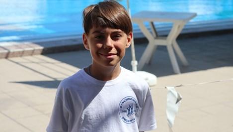 Запознайте се с Иван Наков - първият мъжки състезател по синхронно плуване у нас