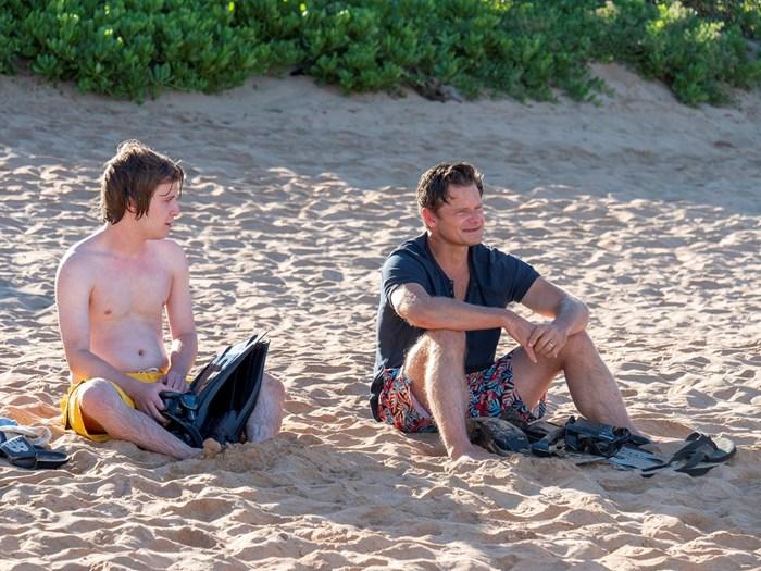 """Стив Зан (вдясно) е познат от много сериали, сред които """"Приятели"""" и """"Монк"""". Сега има роля и в """"Белият лотос"""". СНИМКА: НВО"""