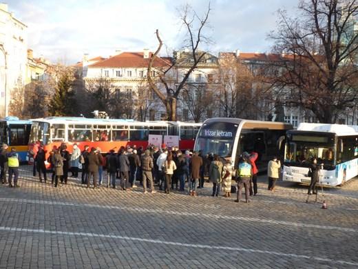 43,4% от софиянци пътуват с градския транспорт, 31,8% с автомобил