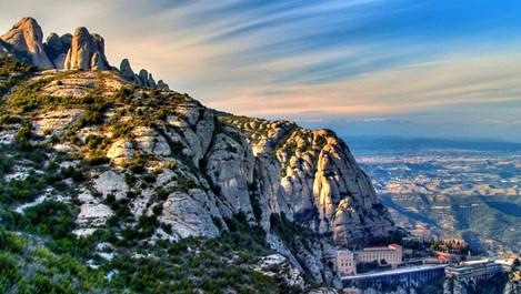 Вълшебната планина Монсерат - свещеното място на Испания (галерия)