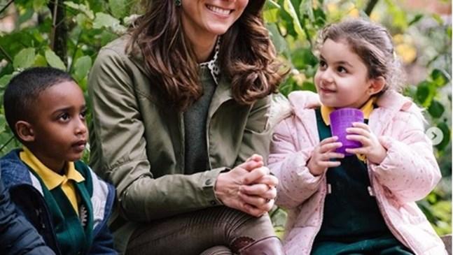 Кейт Мидълтън се завърна след отпуск по майчинство