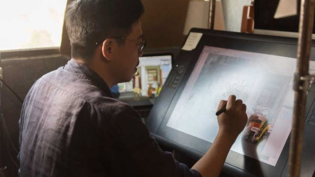Художник показва в трогателни рисунки живота на един самотен баща