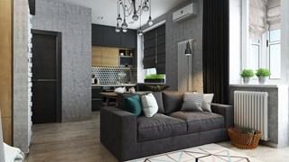 Ниша за спалнята в малкото жилище (галерия)