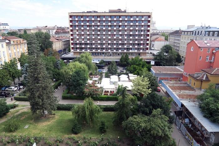 """Хотел """"Рила"""" в центъра на София"""