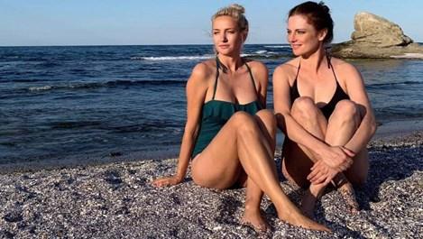 Теодора Духовникова и Диана Алексиева заедно на почивка
