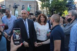 Румен Радев застана начело на летните протести срещу Борисов през 2020 г.