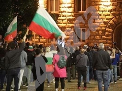 104-а поредна вечер на протести в София