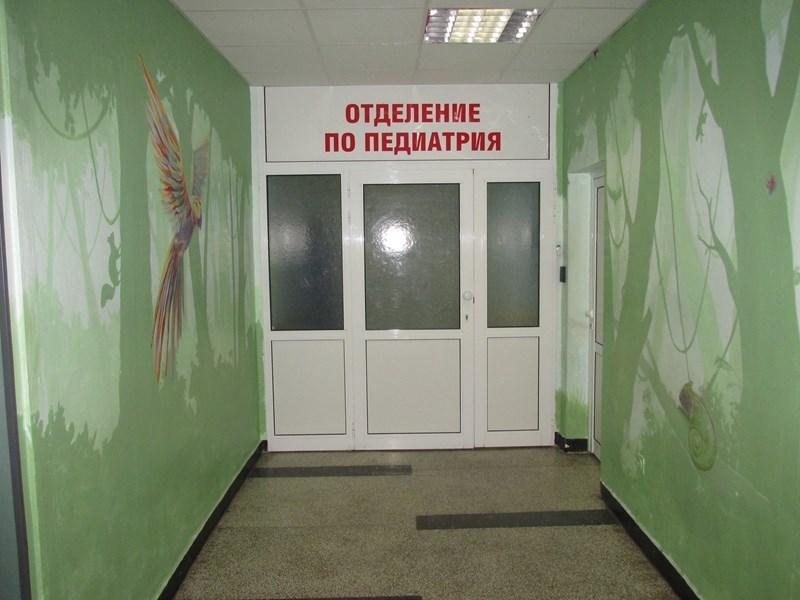 """Детското отделение на УМБАЛ """"Св. Анна"""" е пълно, откакто върви грипната вълна. Снимка: Архив на болницата"""
