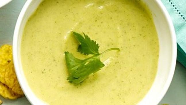 Супа от тиквички и аспержи