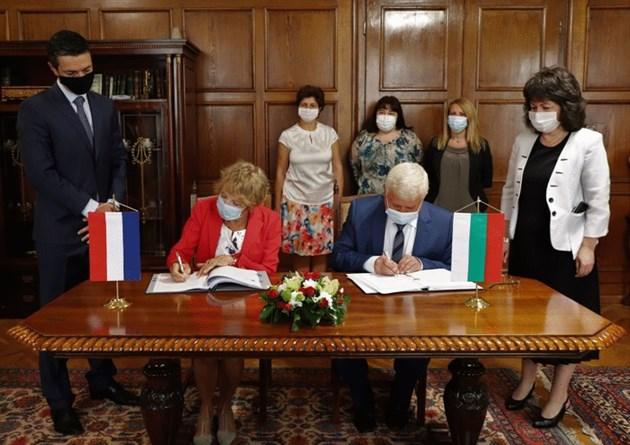 България и Нидерландия с нова спогодба за избягване на двойното данъчно облагане