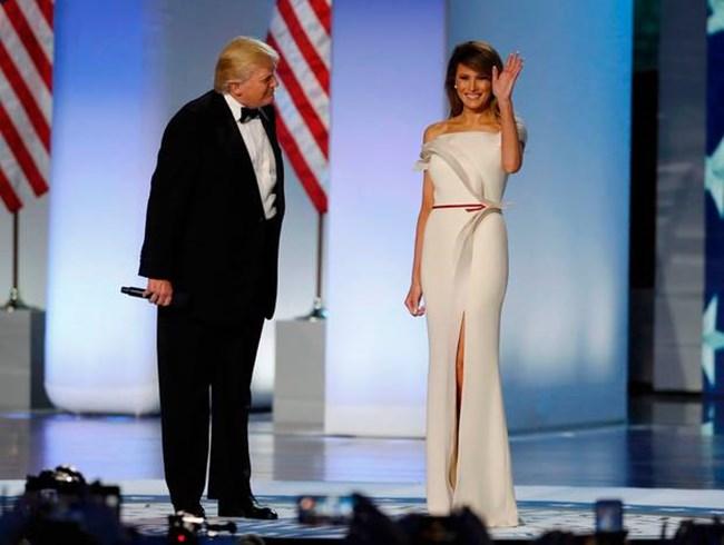 Вечерта, когато Доналд Тръмп встъпи в длъжност.